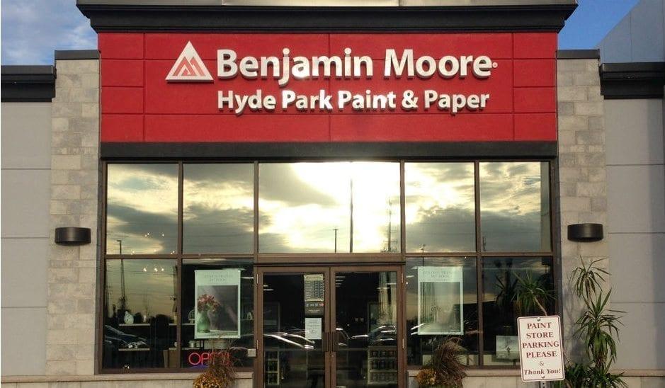 Hyde Park Paint & Paper Storefront