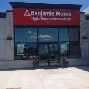 Benjamin Moore Hyde Park Paint & Paper Storefront