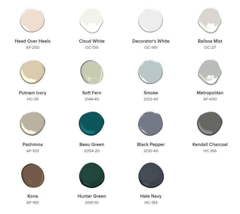 Hyde Park Paint & Paper 2019 Colours